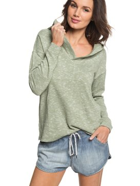 Sunset Surfside - Hooded Poncho Sweatshirt  ERJKT03367