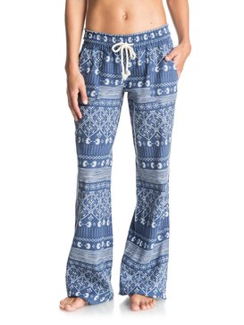 OCEANSIDE PANT PRINTED Blue ERJNP03075