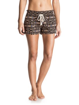 OCEANSIDE SHORT PRINTED Black ERJNS03030