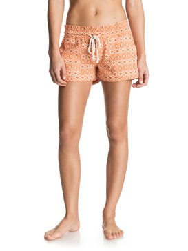OCEANSIDE SHORT PRINTED Pink ERJNS03030
