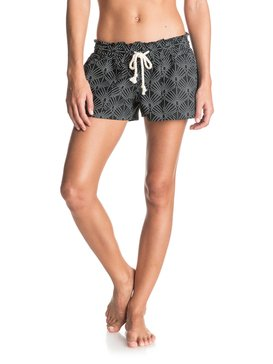 OCEANSIDE SHORT PRINTED Negro ERJNS03034