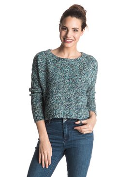 True To Your School Multi - Cropped Sweater  ERJSW03142