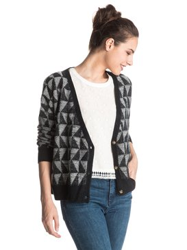 Suns In Our Mind - Geo Pattern Cardigan  ERJSW03157