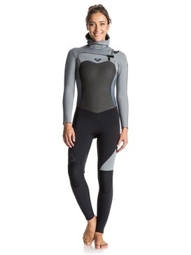 Syncro 5/4/3mm - Chest Zip Hooded Full Wetsuit  ERJW203001
