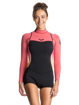 Syncro 2/2mm - Back Zip Long Sleeve Springsuit  ERJW403006
