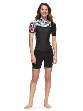 2/2mm Performance - Short Sleeve Chest Zip Springsuit  ERJW503005