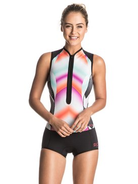 Pop Surf 1mm - Front Zip Short John Wetsuit  ERJW603002