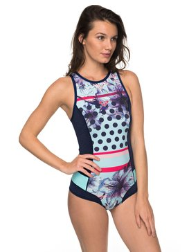 1mm Pop Surf - Back Zip Neoprene One-Piece  ERJW603013