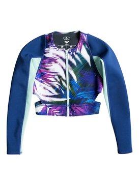 Caribbean Sunset - Cropped Wetsuit Jacket  ERJW803001