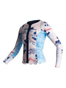 1mm Pop Surf Scallop - Long Sleeve Wetsuit Jacket  ERJW803011