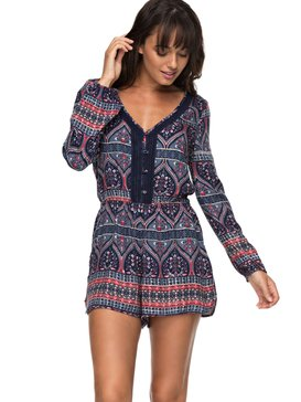 Feed The Rhythm - Long Sleeve Playsuit  ERJWD03197