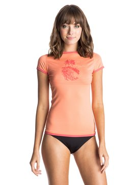 ROXY Sunset - Short Sleeve Rash Vest  ERJWR03031