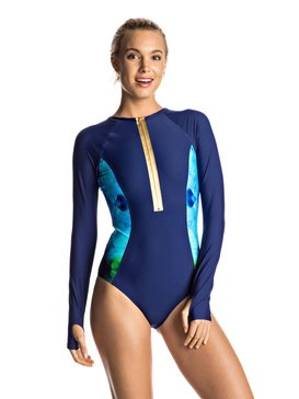 Pop Surf - Long Sleeve One-Piece Swimsuit  ERJWR03115