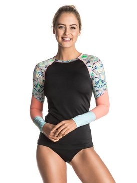Keep It ROXY - Long Sleeve Rash Vest  ERJWR03119