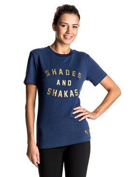 Shade & Shakas - T-shirt Sleeve Rash Vest  ERJWR03137