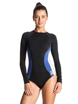 Lisa Andersen - Long Sleeve Zip One-Piece Swimsuit  ERJWR03159