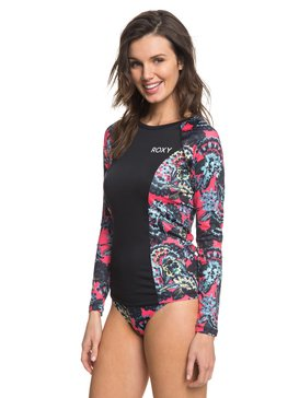 ROXY Waves Swim - Long Sleeve UPF 50 Rash Vest  ERJWR03209