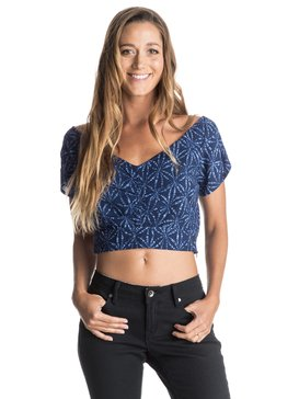 Flower Chain - Cropped Top  ERJWT03089