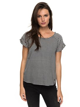 Gypsy Path Striped - Short Sleeve Top  ERJWT03165