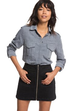 Military Influence Stripe - Long Sleeve Shirt  ERJWT03247
