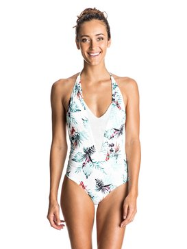 SHADY PALM V NECK ONE PIECE  ERJX103067