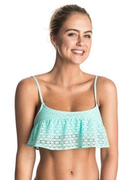 Dotted Crochet Flutter - Bikini Top  ERJX303227