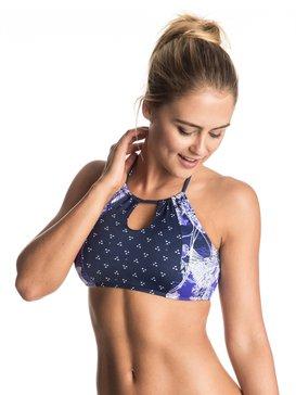 Perpetual Water - Crop Bikini Top  ERJX303230