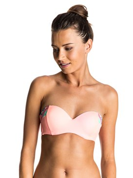 Sweet Memories - Moulded Bandeau Bikini Top  ERJX303340