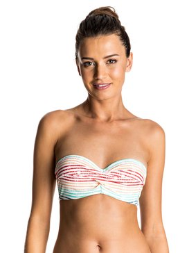 Sporty ROXY - Twisted Bandeau Bikini Top  ERJX303387