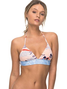 Pop Surf - Fixed Triangle Bikini Top  ERJX303489