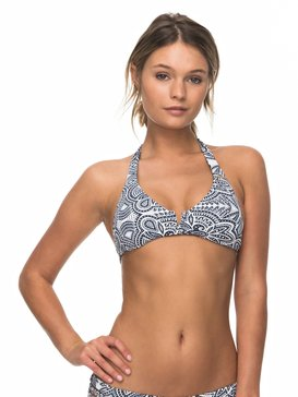 Girl Of The Sea - Halter Bikini Top  ERJX303611