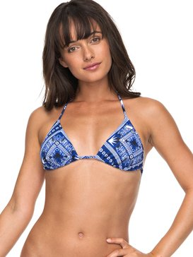 ROXY Essentials - Tiki Tri Bikini Top  ERJX303650