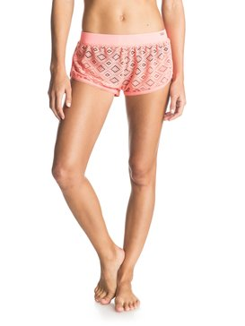 CROCHET FANCY SHORT Orange ERJX603015