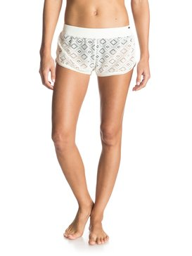 CROCHET FANCY SHORT White ERJX603015