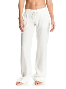 OCEAN SIDE PANT VISCOSE White ERJX603047