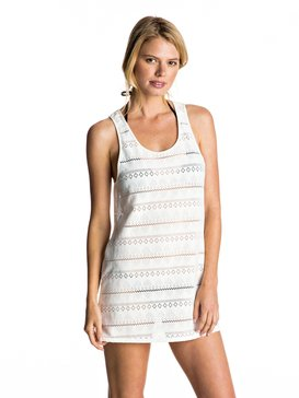 CROCHET EASY DRESS Blanco ERJX603063