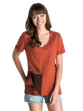 V Neck - T-Shirt  ERJZT03245