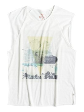 MUSCLE RAGLAN HAWAII SOCIETY White ERJZT03497