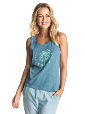 Billy Twist Tropical Things - Sleeveless T-Shirt  ERJZT03803