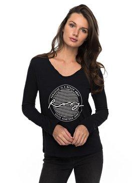 V Twist Paradise - Long Sleeve T-Shirt  ERJZT04010