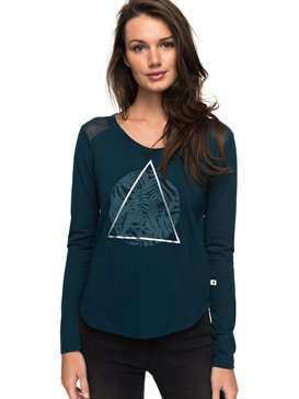Air Potato Jungly Triangle - Long Sleeve T-Shirt  ERJZT04047
