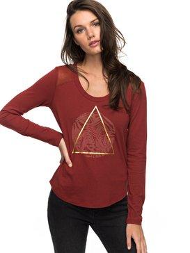 Air Potato Jungly Triangle - Long Sleeve T-Shirt  ERJZT04047