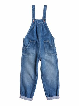 Happy Place - Denim Overalls  ERLDP03011