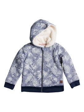 In The Sky Sherpa - Printed Zip-Up Hoodie  ERLFT03062