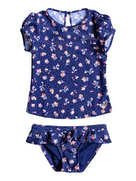 My Sweet Flower - Cap Sleeve Rash Vest  ERLWR03002