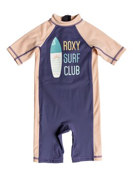 Salty Mermaid - Short Sleeve One-Piece UPF 50 Rashguard  ERLWR03070
