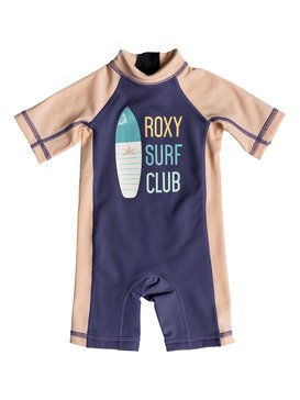 Baby On The Waves - Short Sleeve One-Piece UPF 50 Rashguard  ERNWR03010