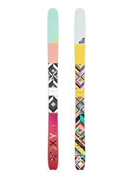 Roxy Shima - Tip & tail rocker -  Skis  FFXYSHIMA