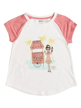 ICE CREAM CONE SS TEE White PGRS61171