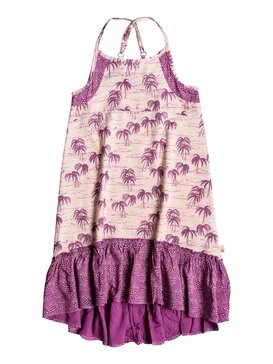 LAZY PALM DRESS Orange PGRS68107